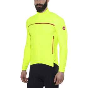 Castelli Perfetto Maillot à manches longues Homme, yellow fluo